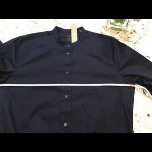Jcrew dress shirt body suit